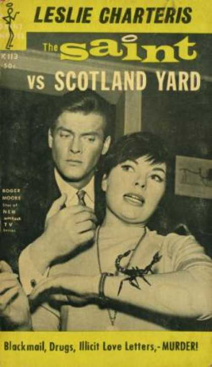 Vintage Books - The Saint Vs Scotland Yarad