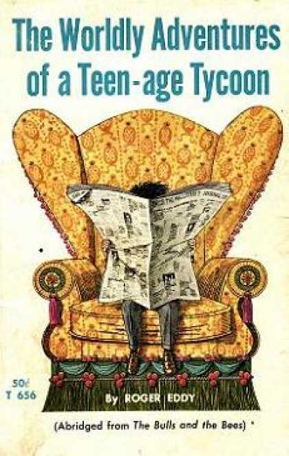 Vintage Books - The Worldly Adventures of a Teen-age Tycoon