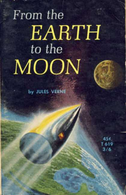 Vintage Books - From the Earth To the Moon - Jules Verne