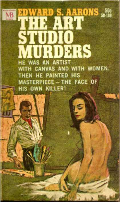 Vintage Books - The Art Studio Murders - Edward S Aarons
