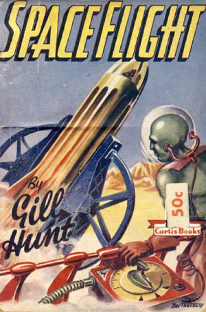 Vintage Books - Space Flight - Gill Hunt