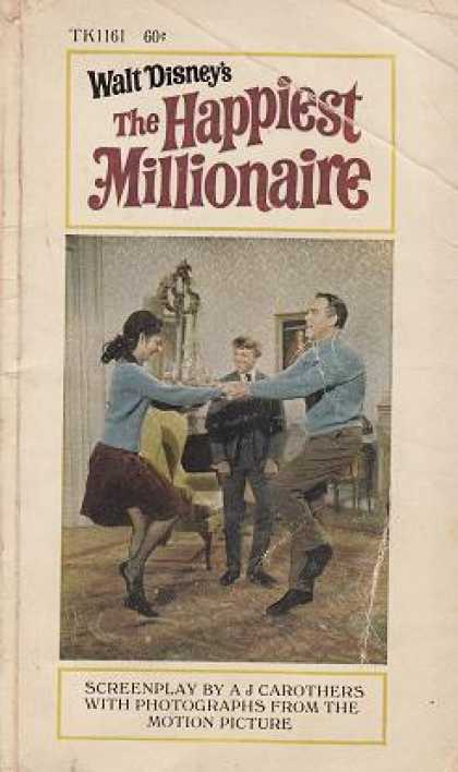 Vintage Books - The Happiest Millionaire : A J Carothers