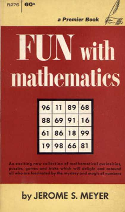 Vintage Books - Fun With Mathematics - Jerome Sydney Meyer