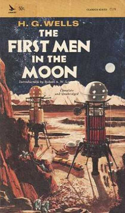Vintage Books - The First Men In the Moon