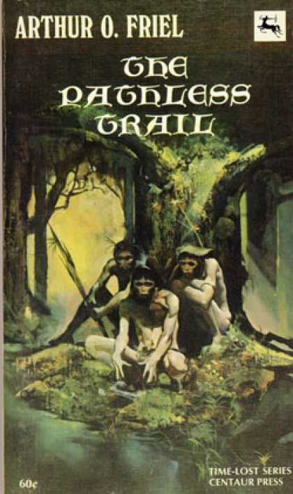 Vintage Books - The Pathless Trail - Arthur O. [cover Art By Jeff Jones] Friel