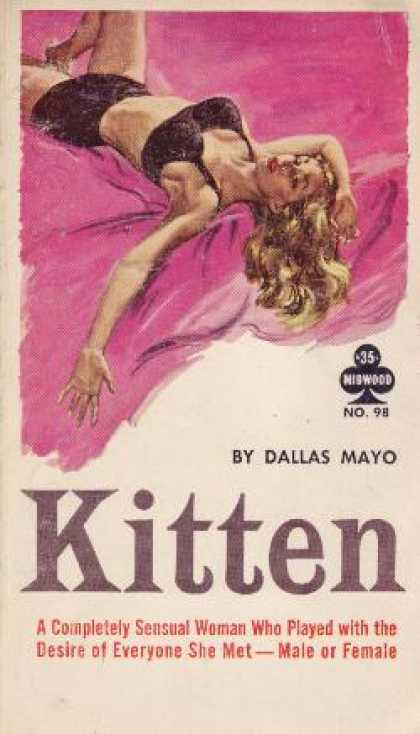 Vintage Books - Kitten - Dallas Mayo