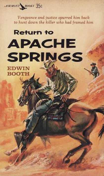 Vintage Books - Return To Apache Springs