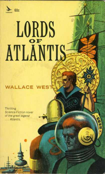 Vintage Books - Lords of Atlantis - Wallace West