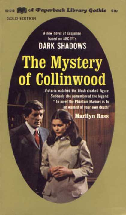 Vintage Books - The Mystery of Collinwood - Marilyn Ross