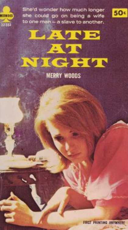 Vintage Books - Late at Night - Merry Woods