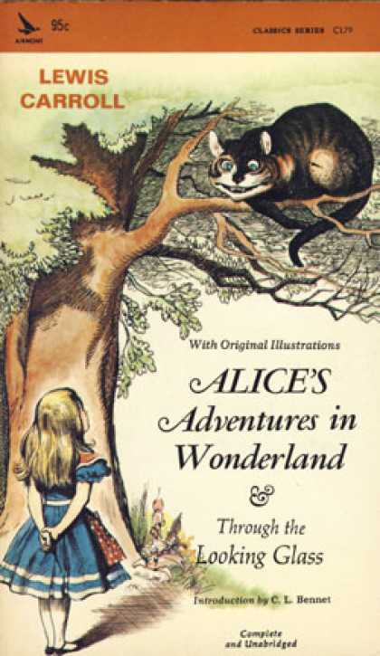 Vintage Books - Alice's Adventures In Wonderland & Through the Looking Glass - Lewis Carroll