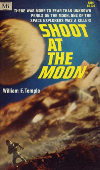 Vintage Books - Shoot at the Moon - William F. Temple