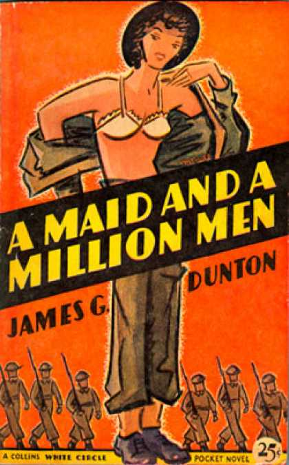 Vintage Books - A Maid and a Million Men - James G. Dunton