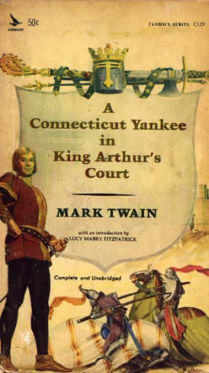 Vintage Books - A Connecticut Yankee In King Arthur's Court - Mark Twain