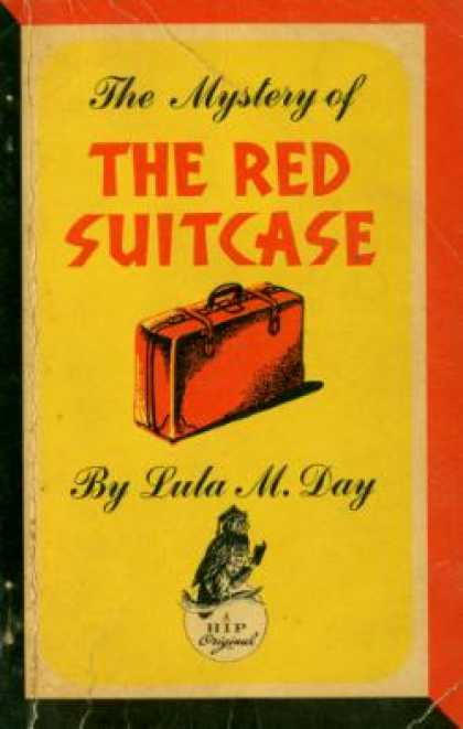 Vintage Books - The Mystery of the Red Suitcase - Lula M. Day
