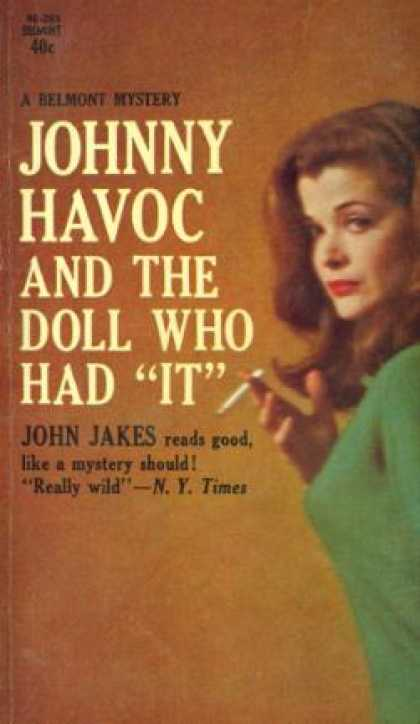 "Vintage Books - Johnny Havoc and the Doll Who Had ""It"" - John Jakes"