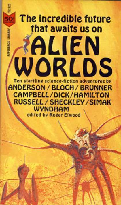 Vintage Books - Alien Worlds: Ten Science-fiction Adventures