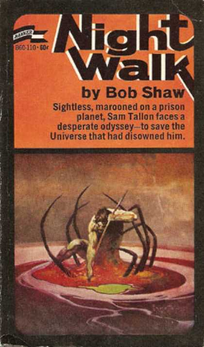 Vintage Books - Night Walk - Bob Shaw