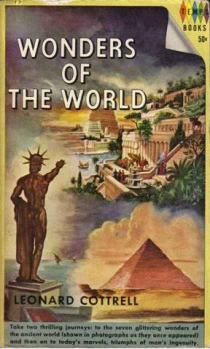 Vintage Books - Wonders of the World - Leonard Cottrell