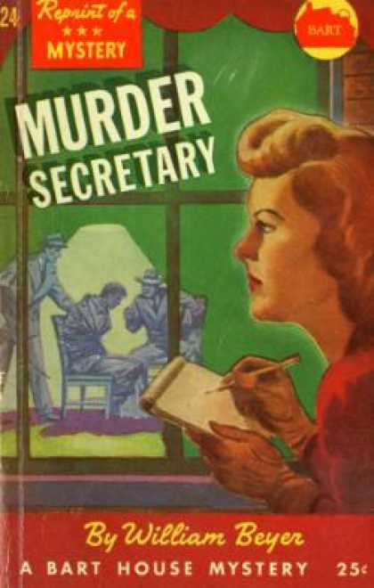Vintage Books - Murder Secretary - William Beyer
