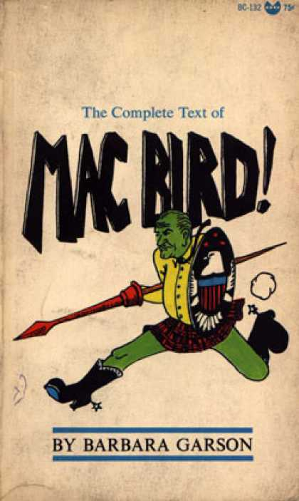 Vintage Books - Mac Bird!