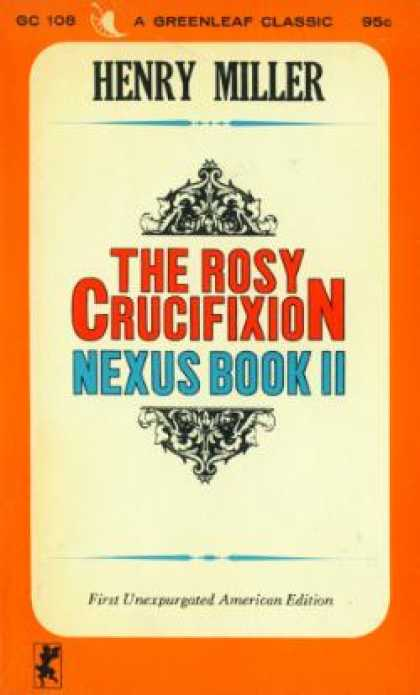 Vintage Books - The Rosy Crucifixion ~ Sexus Book 1