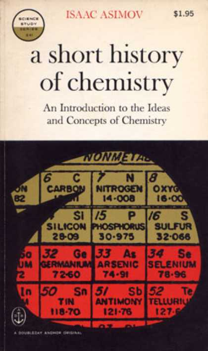 Vintage Books - Short History of Chemistry an Introduction To the Ideas and Concepts of Chemistr