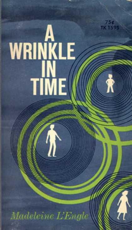 Vintage Books - A Wrinkle In Time - Madeleine L'engle