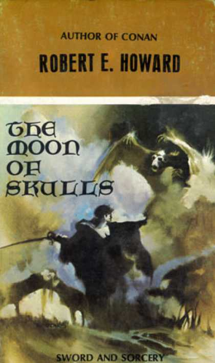 Vintage Books - The Moon of Skulls - Robert E. Howard