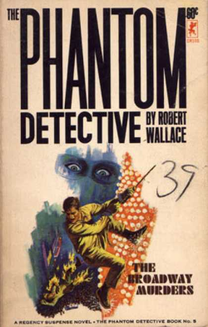 Vintage Books - The Phantom Detective - Robert Wallace