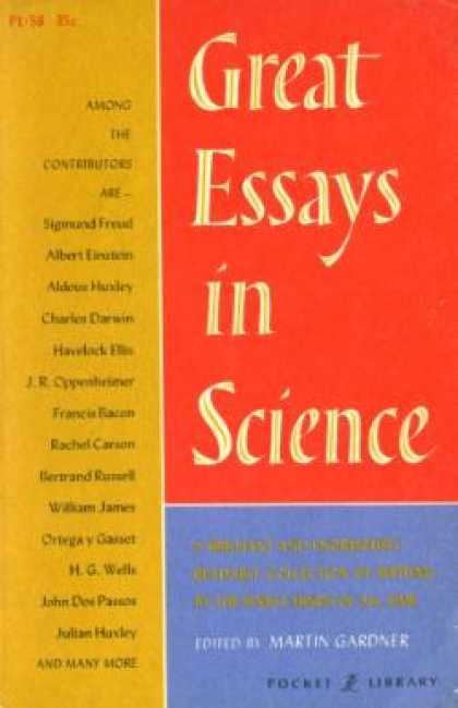 Vintage Books - Great Essays In Science - Martin Gardner
