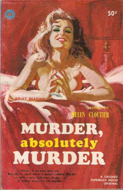Vintage Books - Murder, Absolutely Murder - Helen Cloutier