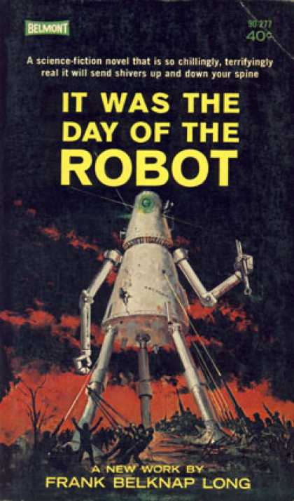 Vintage Books - It Was the Day of the Robot 90-277