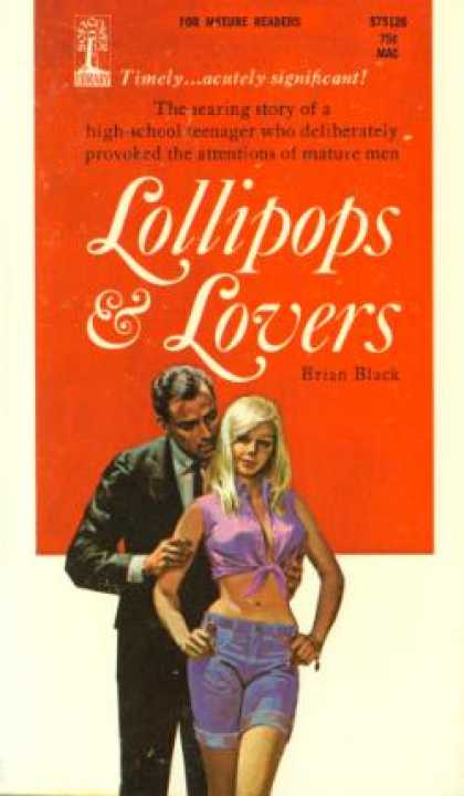 Vintage Books - Lollipops & Lovers - Brian Black
