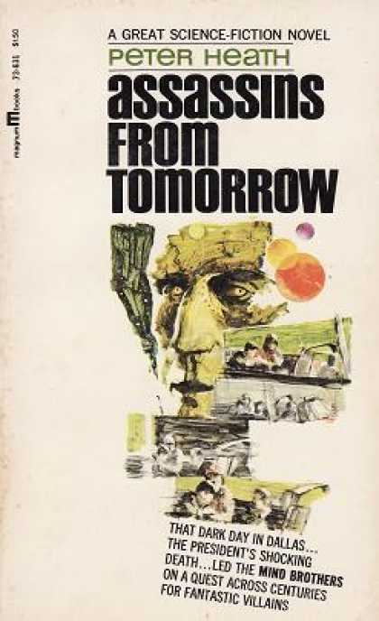 Vintage Books - Assassins From Tomorrow - Peter Heath
