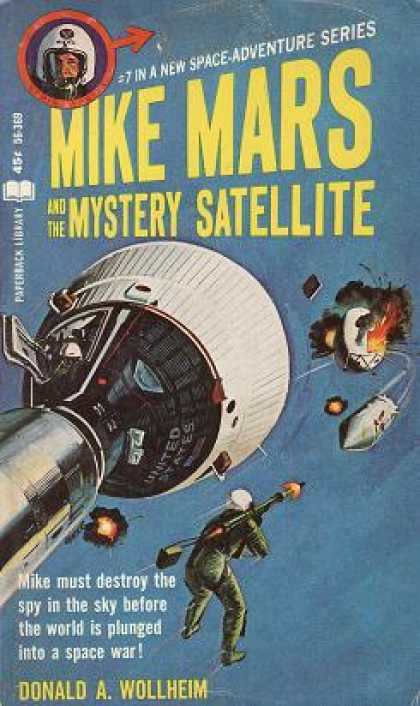 Vintage Books - Mike Mars and the Mystery Satellite - Donald a Wollheim