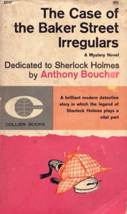 Vintage Books - The Case of the Baker St. Irregulars - Anthony Boucher