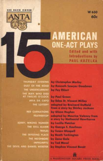 Vintage Books - 15 American One-act Plays