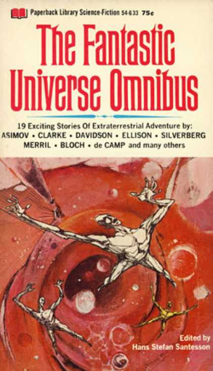 Vintage Books - The Fantastic Universe Omnibus: Title Fight; Golden Pyramid; Robot Who Wanted To
