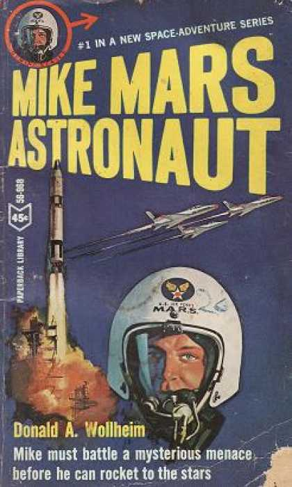 Vintage Books - Mike Mars Astronaut - Donald A. Wollheim