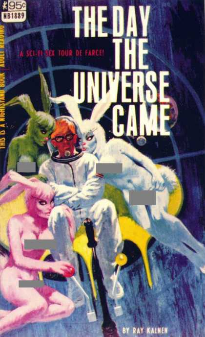 Vintage Books - The Day the Universe Came - Ray Kalmen