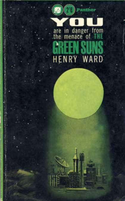 Vintage Books - You Are In Dange From the Menace of the Green Suns - Henry Ward