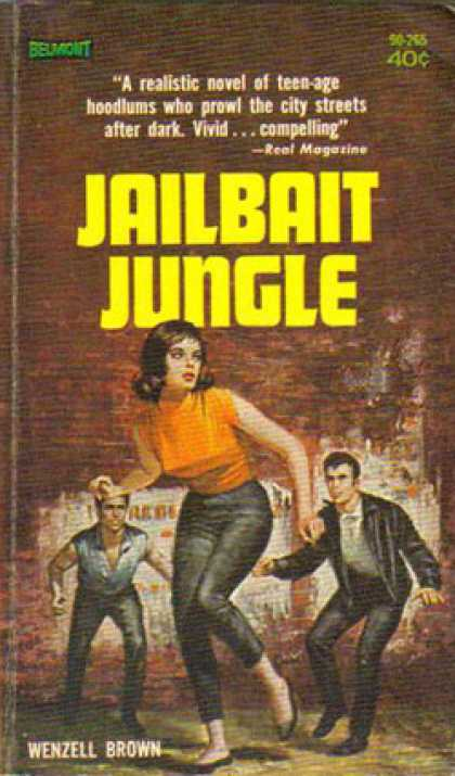 Vintage Books - Jailbait Jungle - Wenzell Brown