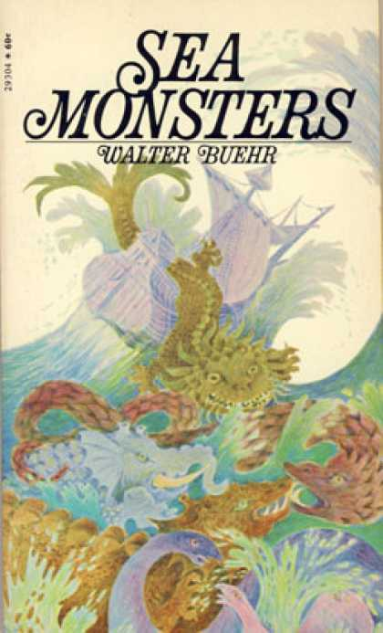 Vintage Books - Sea Monsters - Walter Buehr