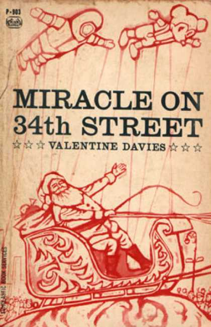 Vintage Books - Miracle on 34th Street - Valentine Davies