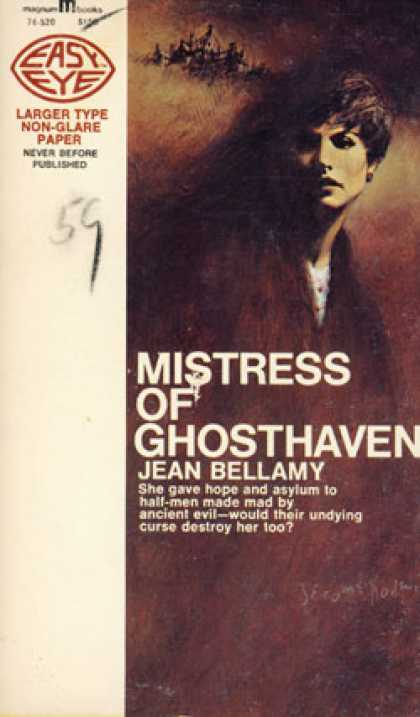 Vintage Books - Mistress of Ghosthaven - Jean Bellamy
