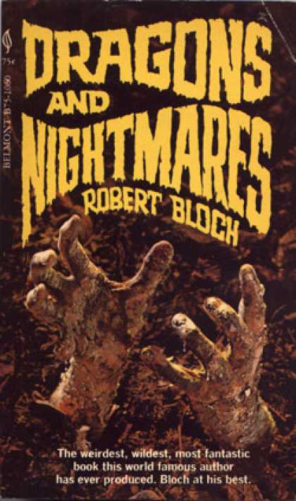 Vintage Books - Dragons and Nightmares - Robert Bloch