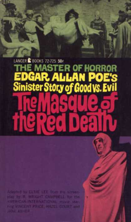 Vintage Books - Masque of the Red Death, the (lancer72-725) - Elsie; R. Wright Campbell; Edgar A