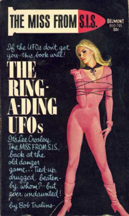Vintage Books - The Ring-a-ding Ufos - Bob Tralins