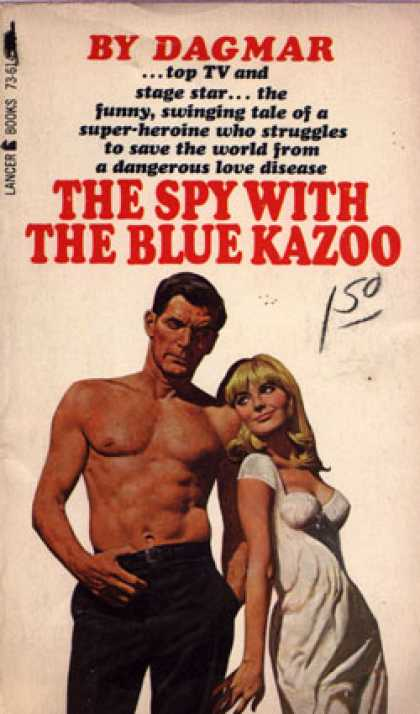 Vintage Books - The Spy With the Blue Kazoo - Dagmar